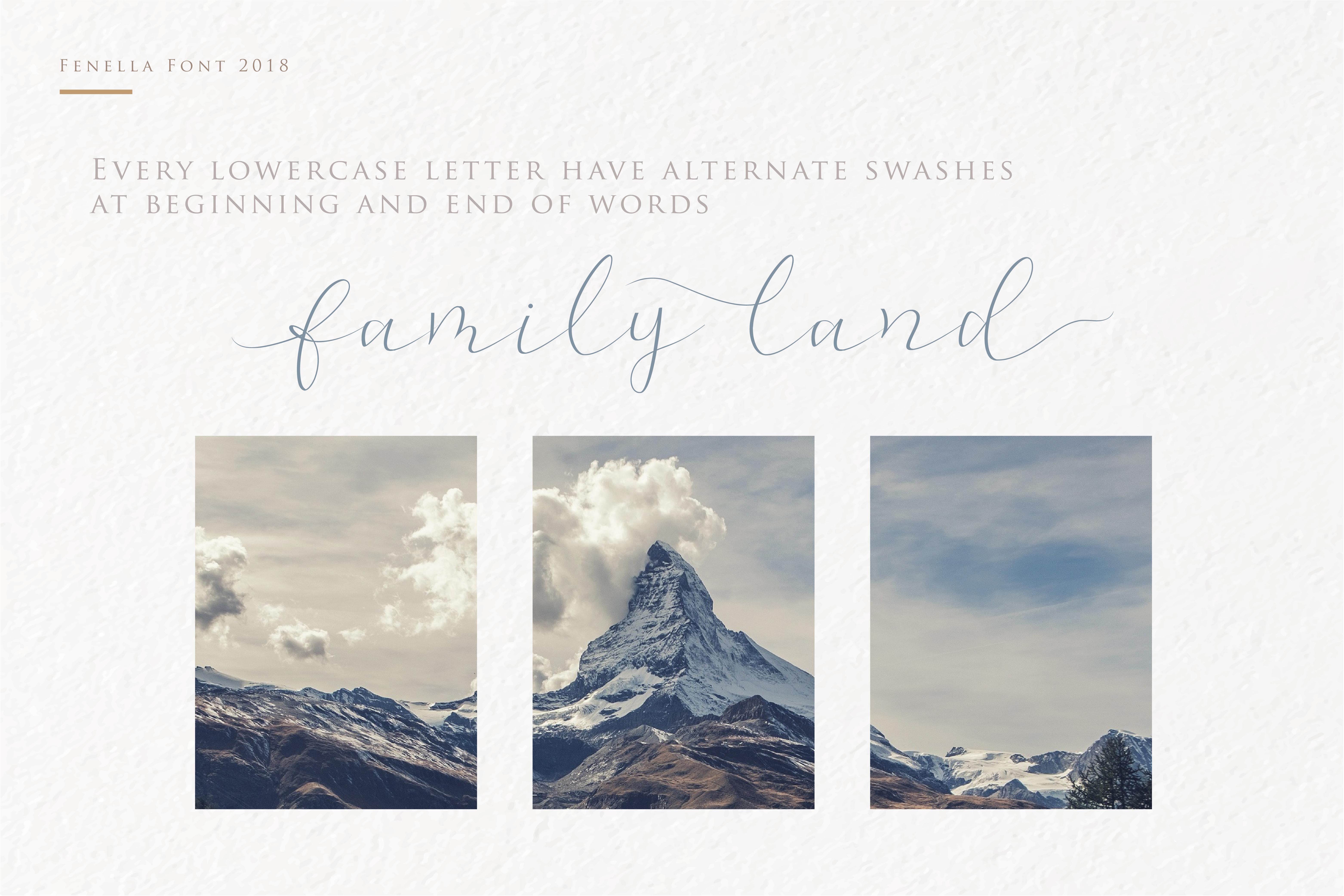 Fenella - Luxury Romantic Font example image 5