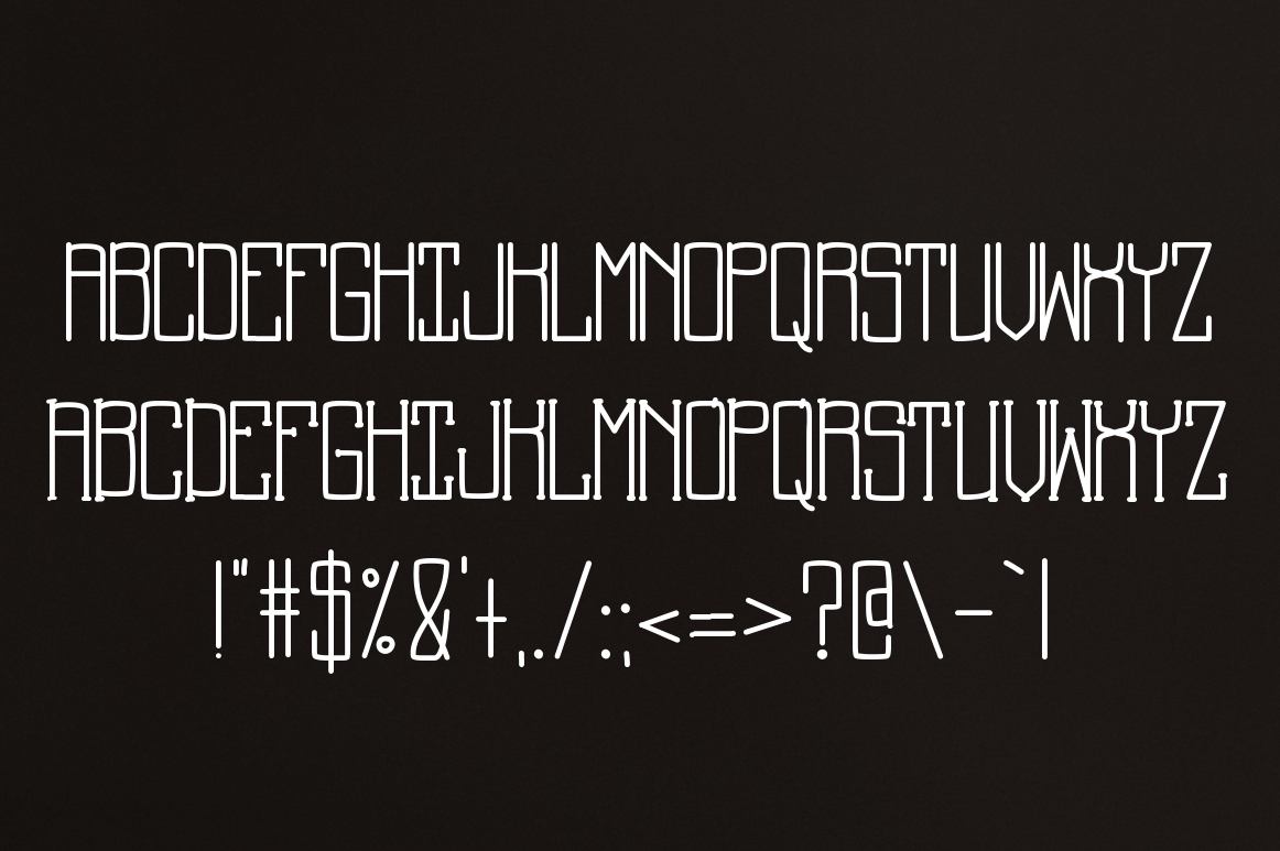 Back to School a Supply Font example image 2