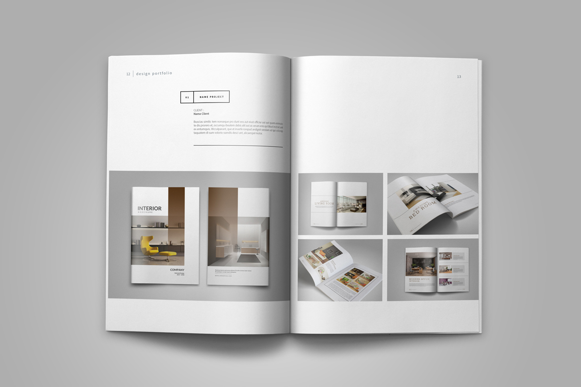 Interior Designer Portfolio Template Interior Design Top Interior Design Portfolio Templates