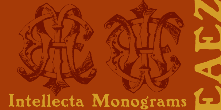 Intellecta Monograms Collection SUPER PACK example image 5