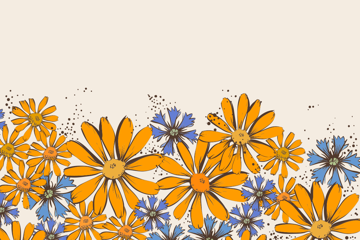 Floral patterns and backgrounds example image 5