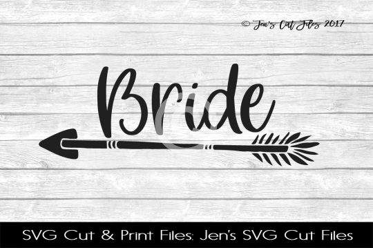 Bride SVG Cut File example image 1
