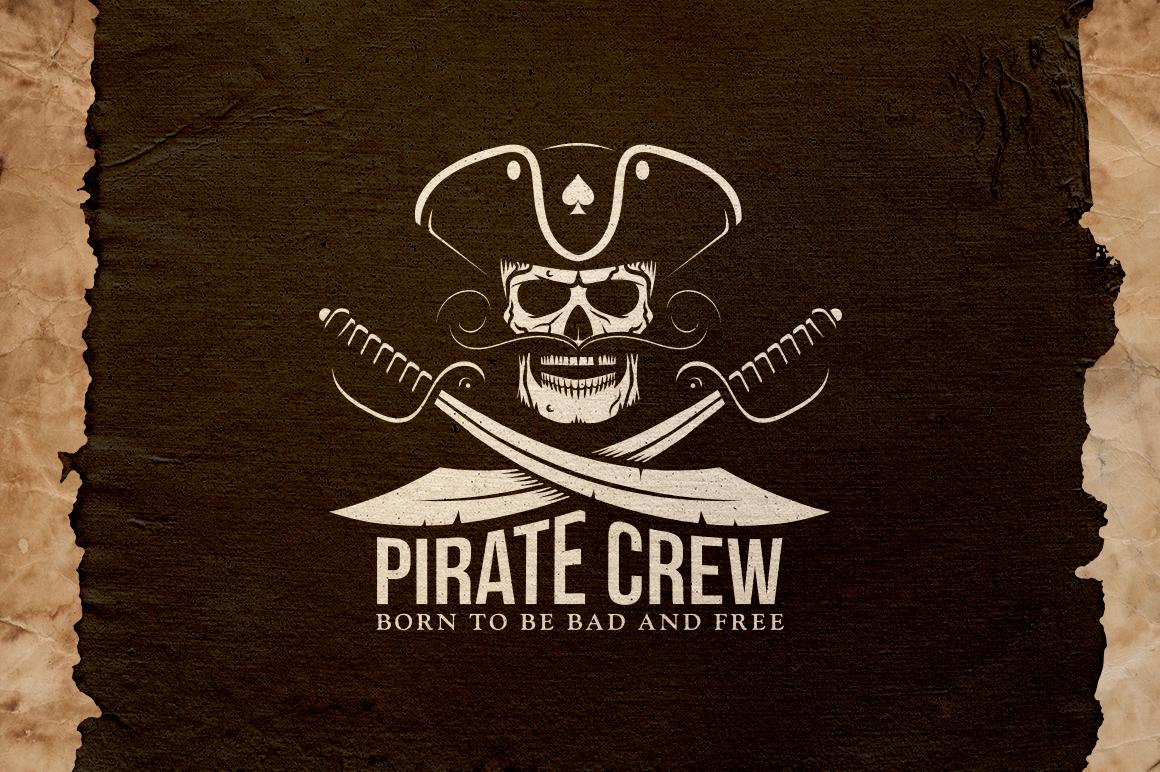 Pirate Crew Logo example image 1