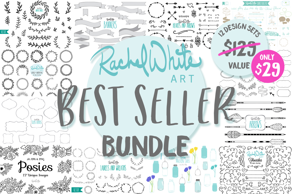Best Seller Bundle, 12 Design Sets example image 1