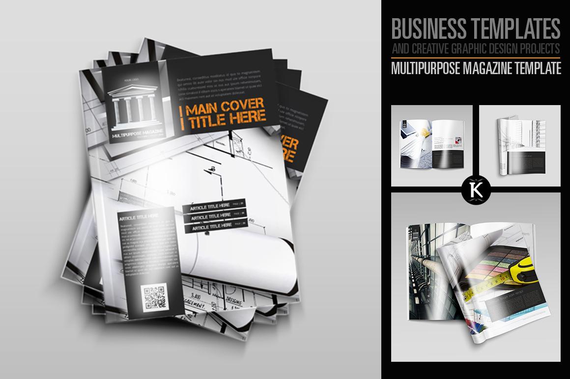Multipurpose Magazine Template example image 1