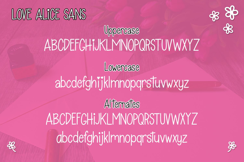 Love Alice example image 2