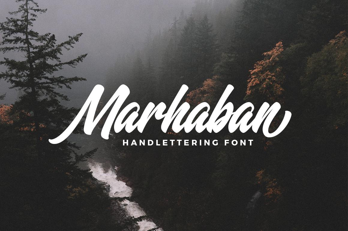 Marhaban Font example 1