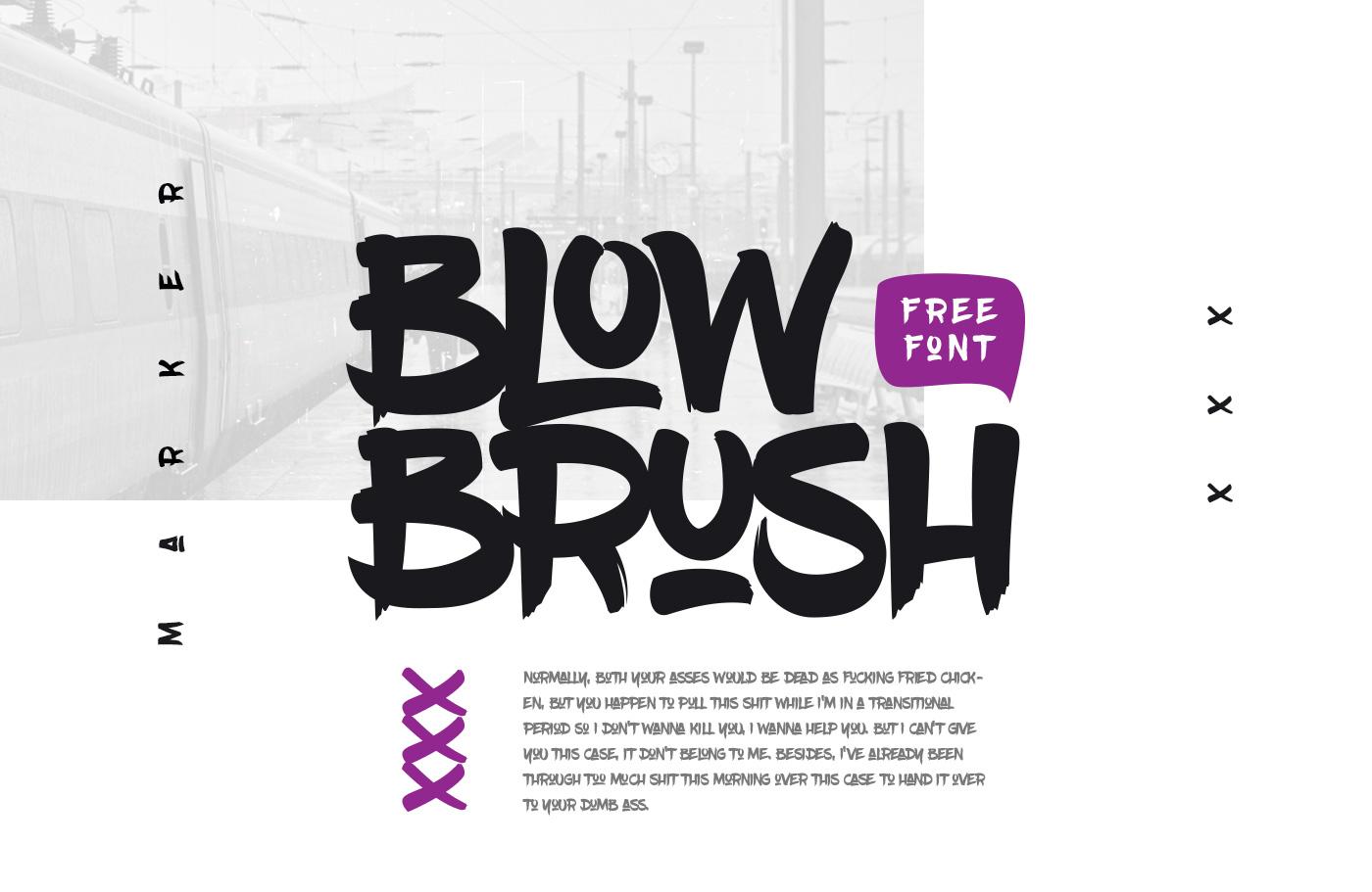 BlowBrush example 1
