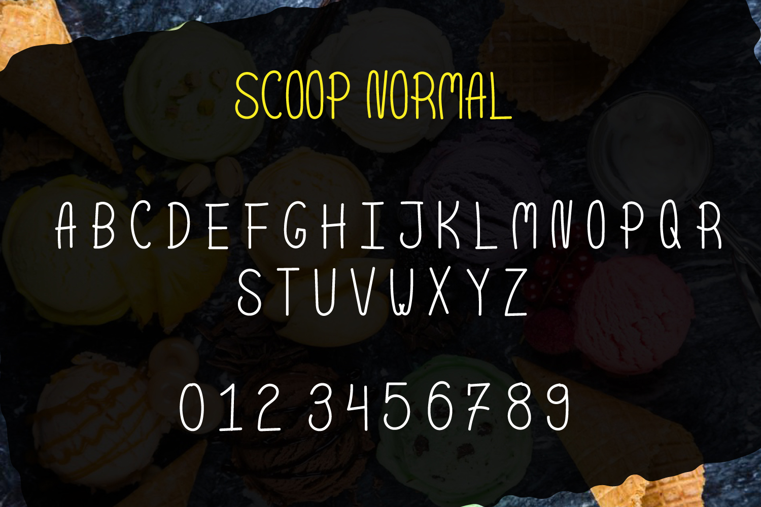 Scoop - Delicious Handdrawn Font example image 2