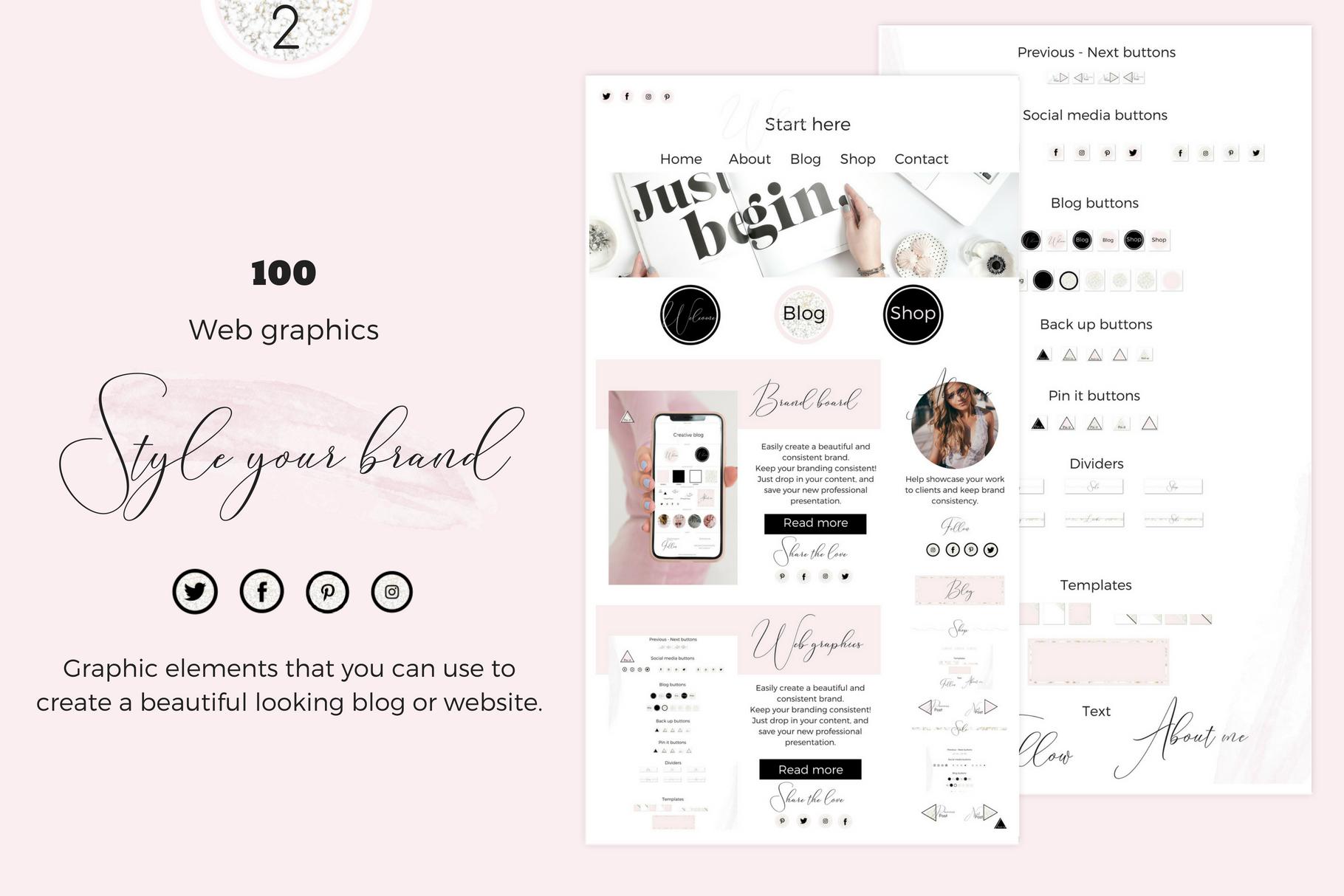 Brandboards + Web graphics example image 4
