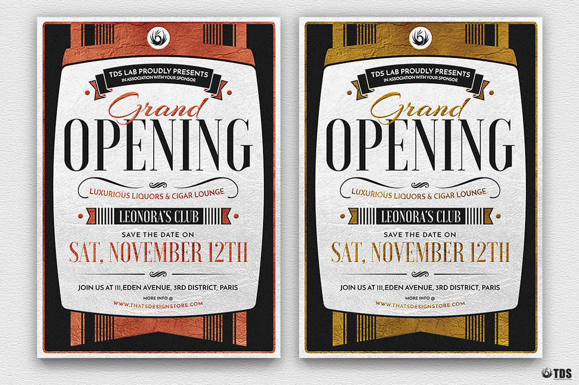 Grand Opening Flyer Template example image 2