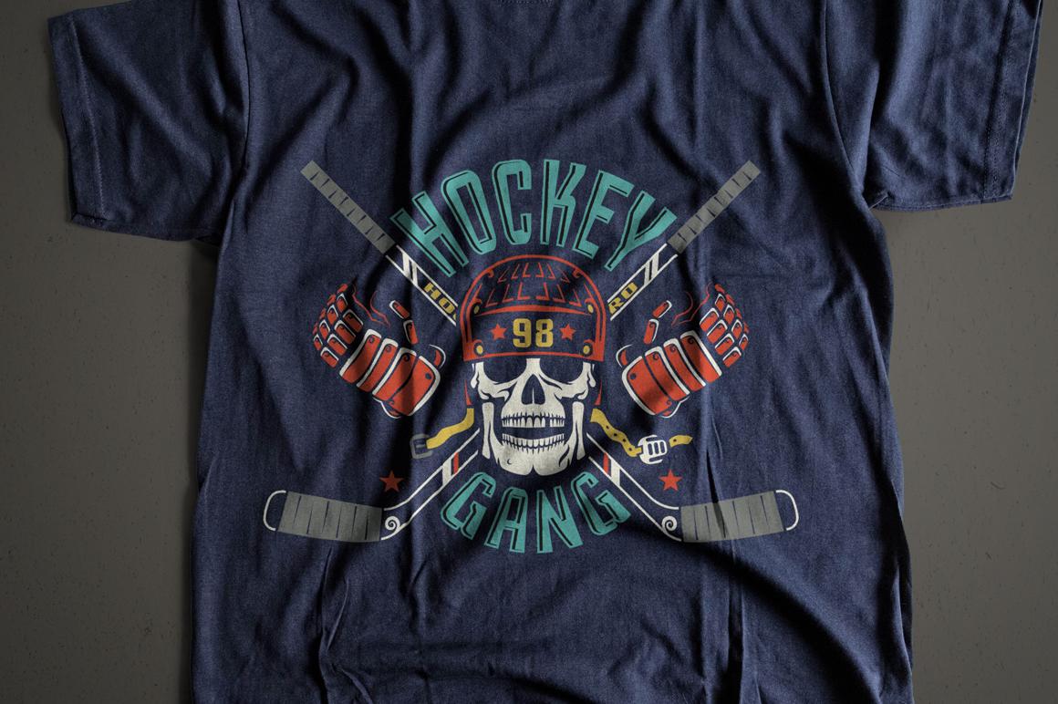 Hockey Dark Bundle example image 6