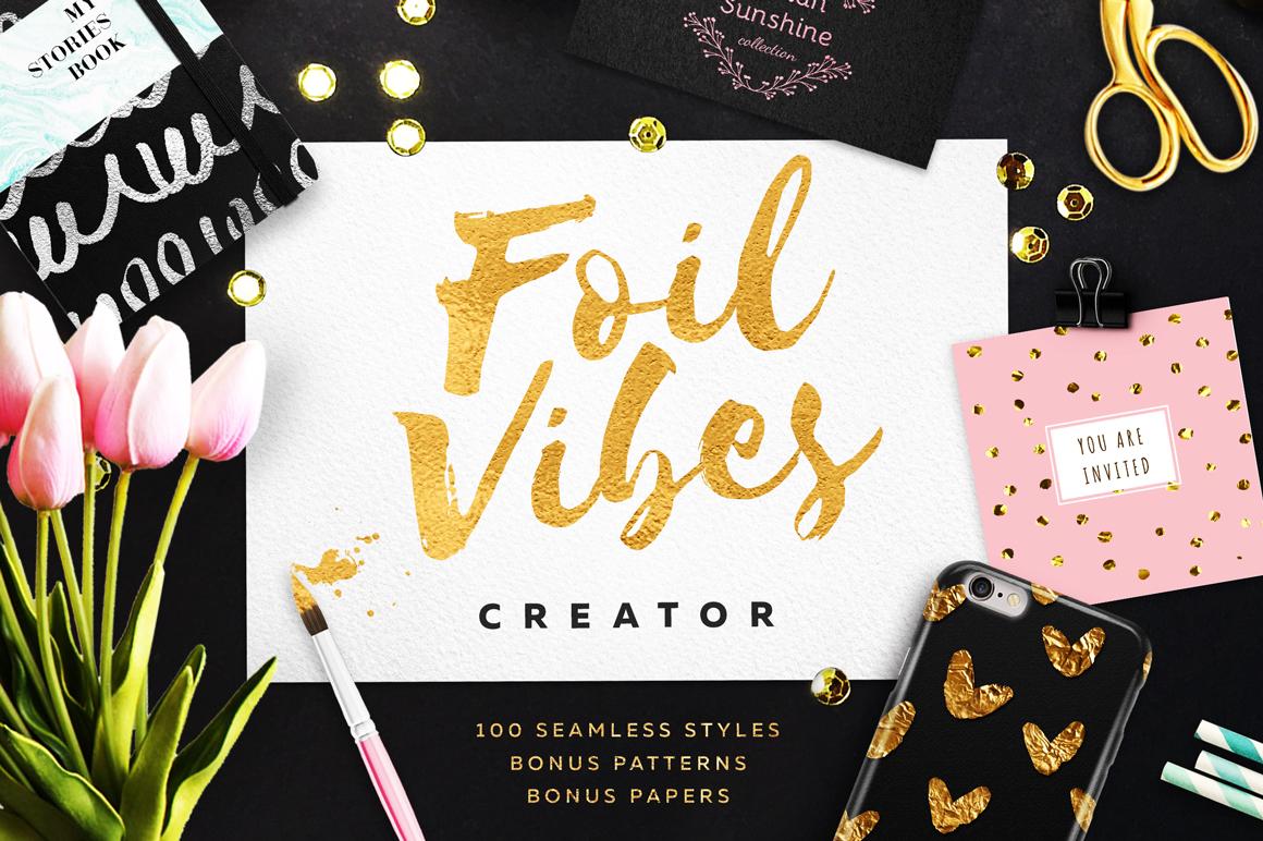Foil Vibes Creator + Massive Bonus example image 1
