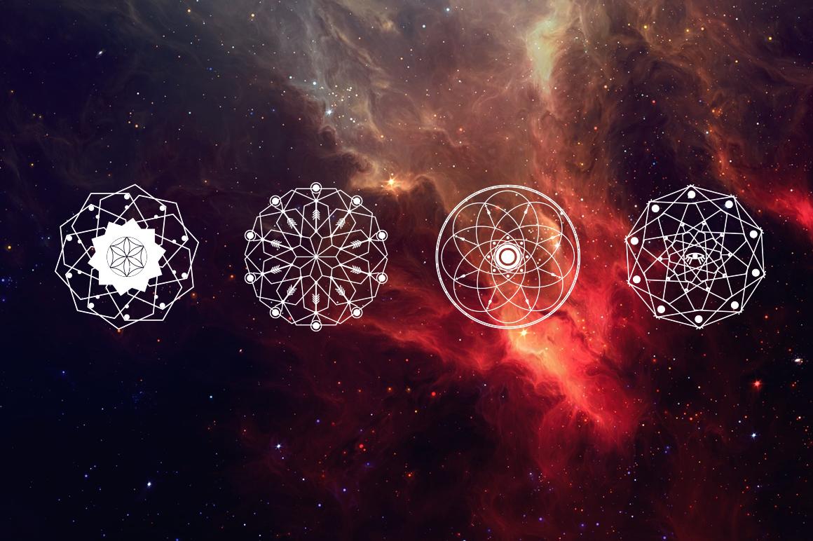 16 Sacred symbols  example image 3
