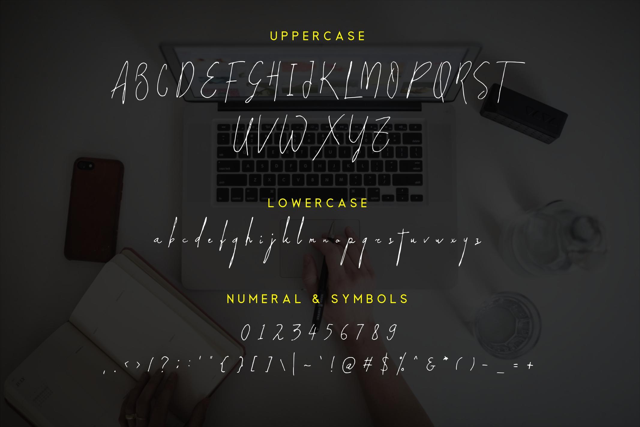 Paradise | Signature Typeface example image 5
