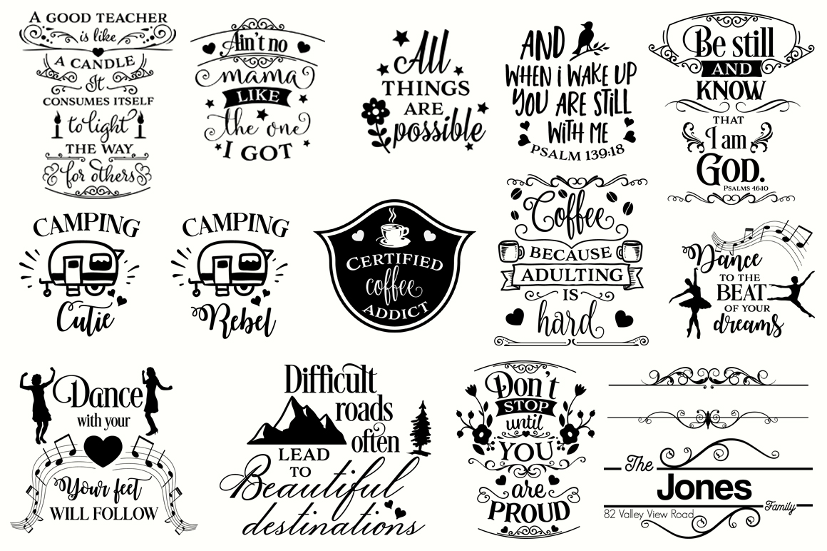 The Big SVG Cut Files Bundle - Limited Promotion! example image 3