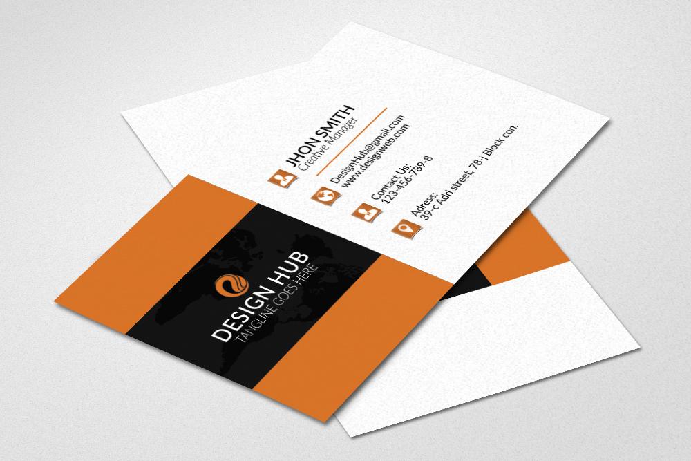 Business cards design by designhub719 design bundles business cards design example image 1 reheart Choice Image