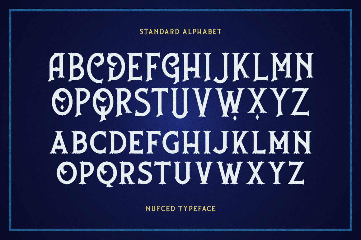 Nufced Typeface example image 7