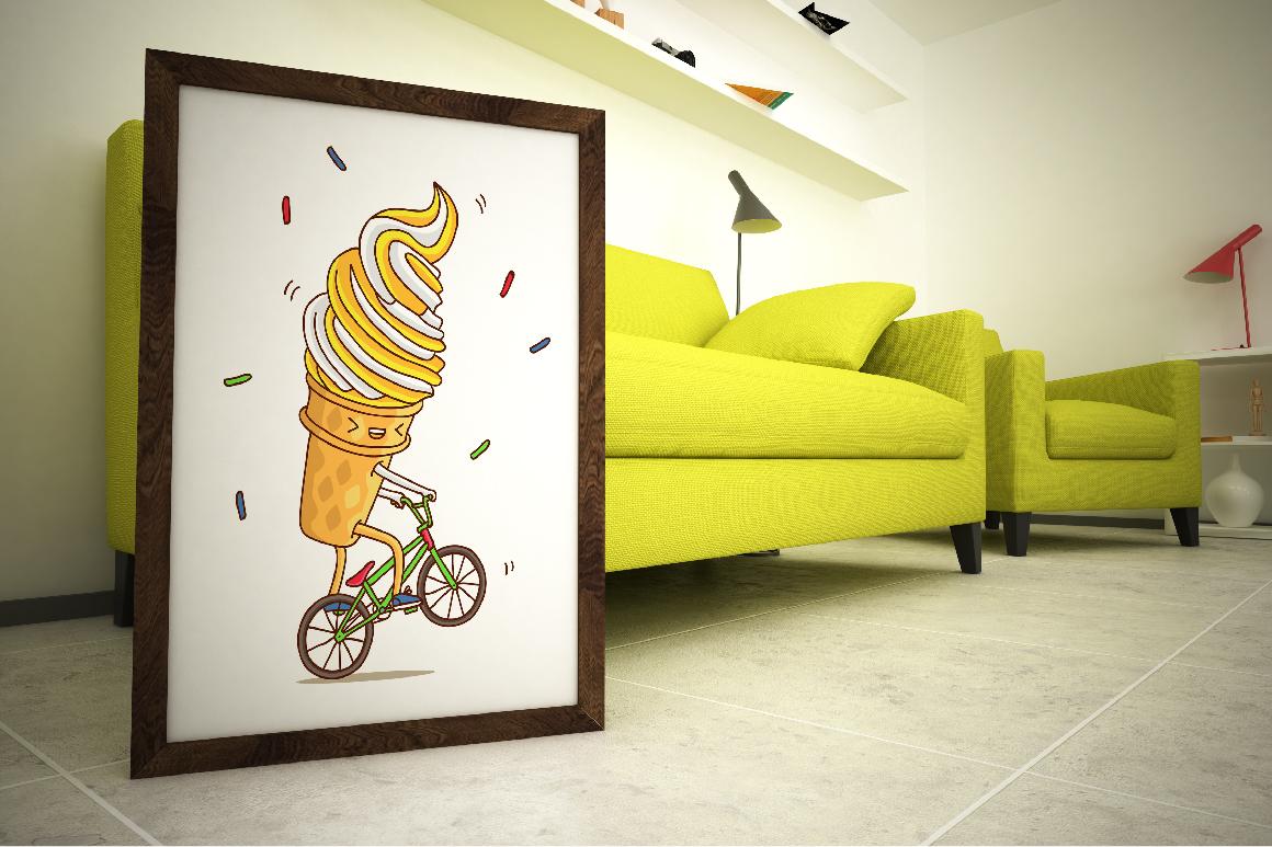 Cool Ice Cream by chekart | Design Bundles