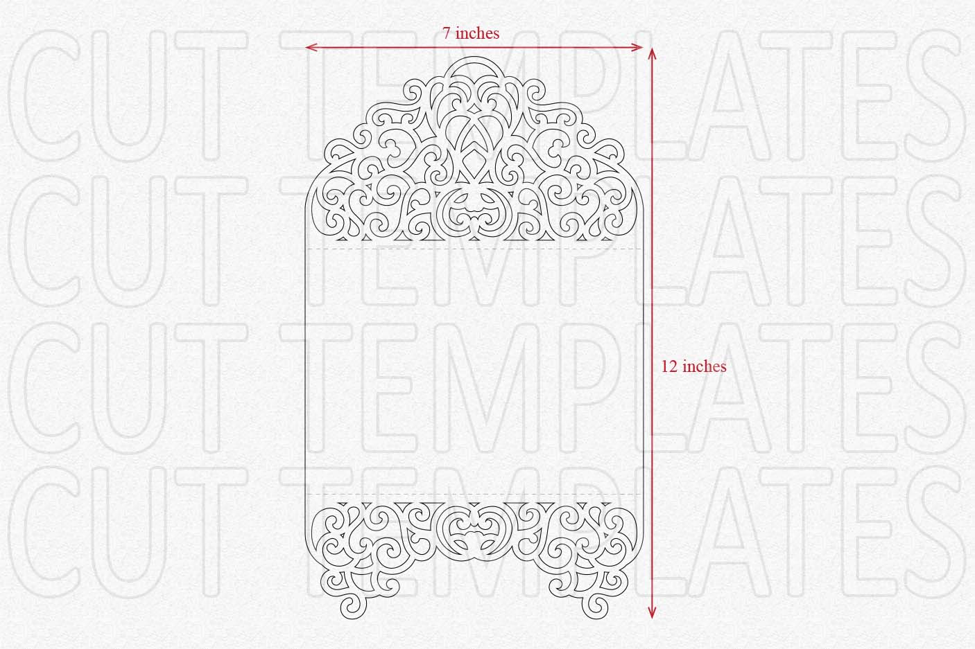 tri fold invitation template