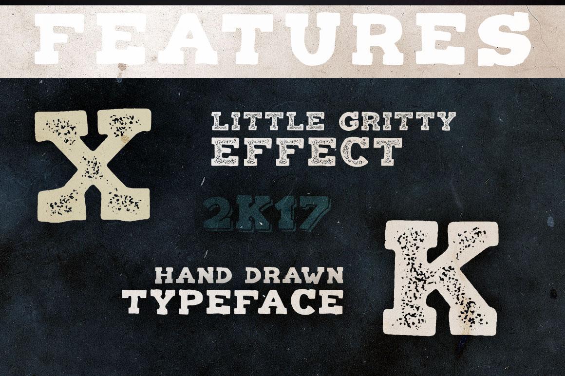 Balatype - 4 Hand Drawn Fonts example image 3