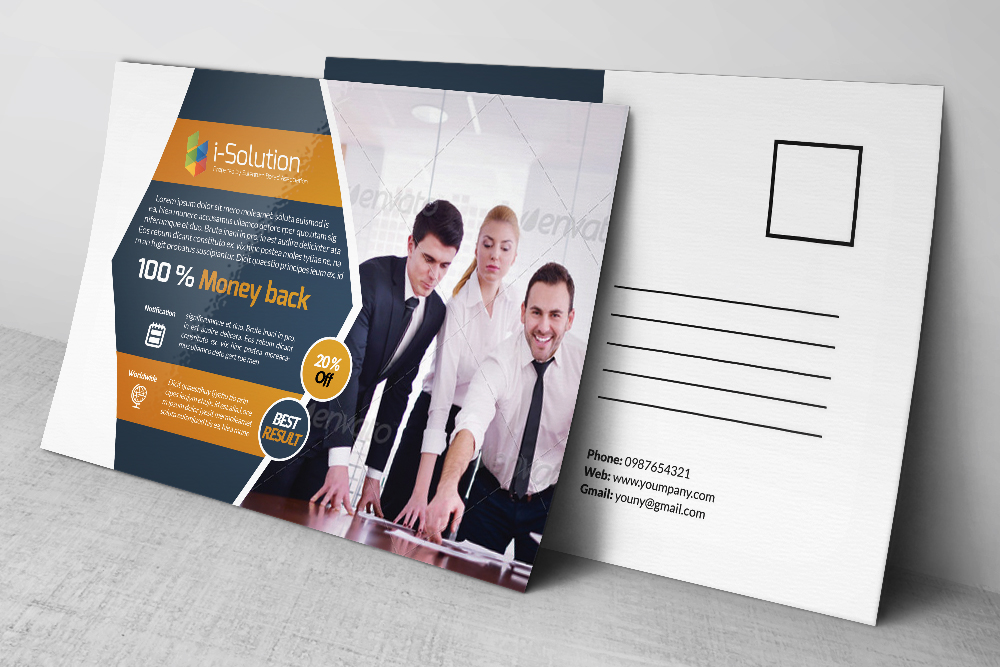 Business postcards templates by designh design bundles business postcards templates example image 2 cheaphphosting Images