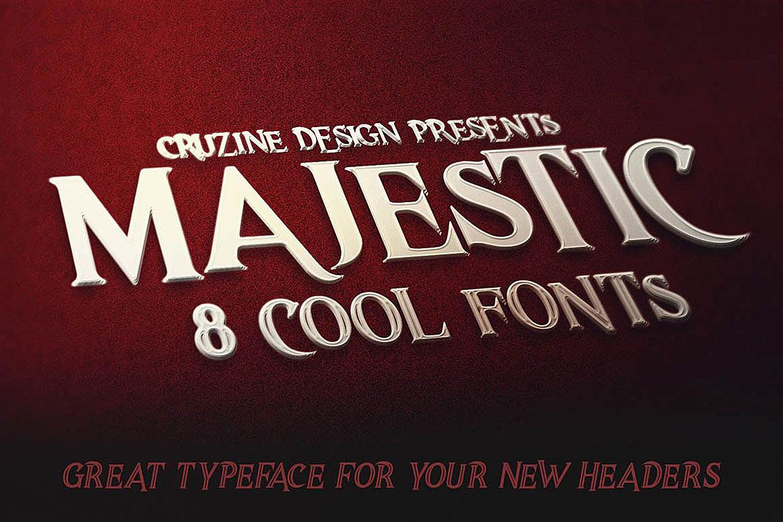 Majestic Typeface example image 4