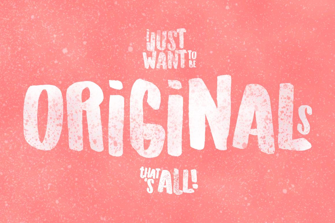 Originals Typeface example image 2