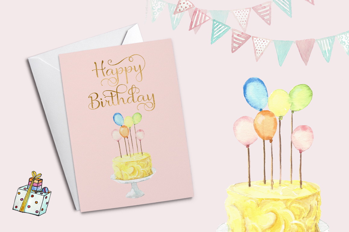 Birthday Script Font example image 8