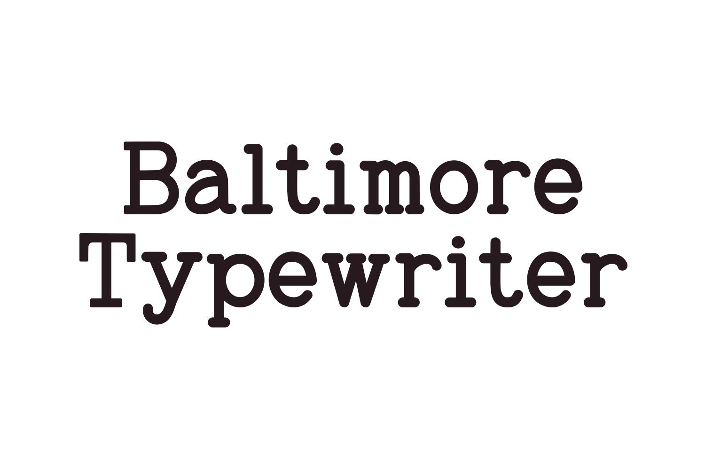 Baltimore Typewriter - SUPER PACK PROMOTION !  example image 1