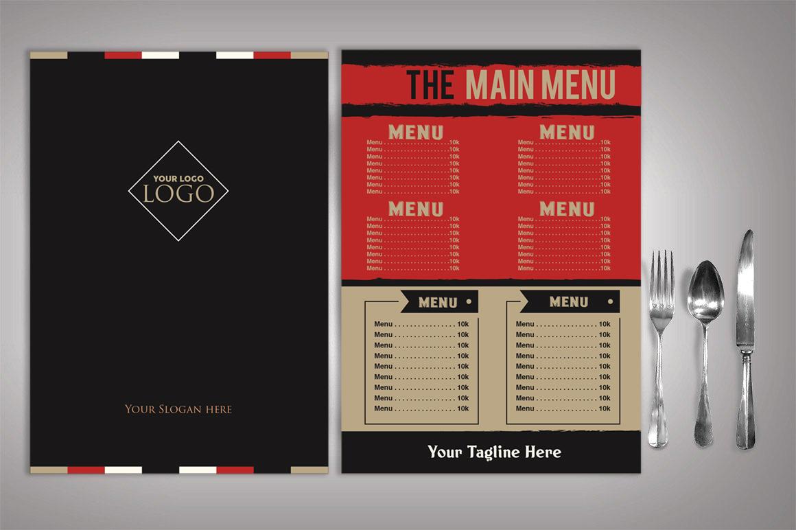 Restaurant Menu example image 3