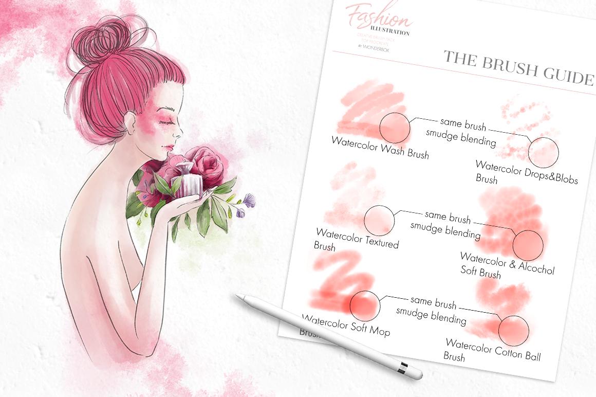 Fashion Illustration Brushes for Procreate example image 12