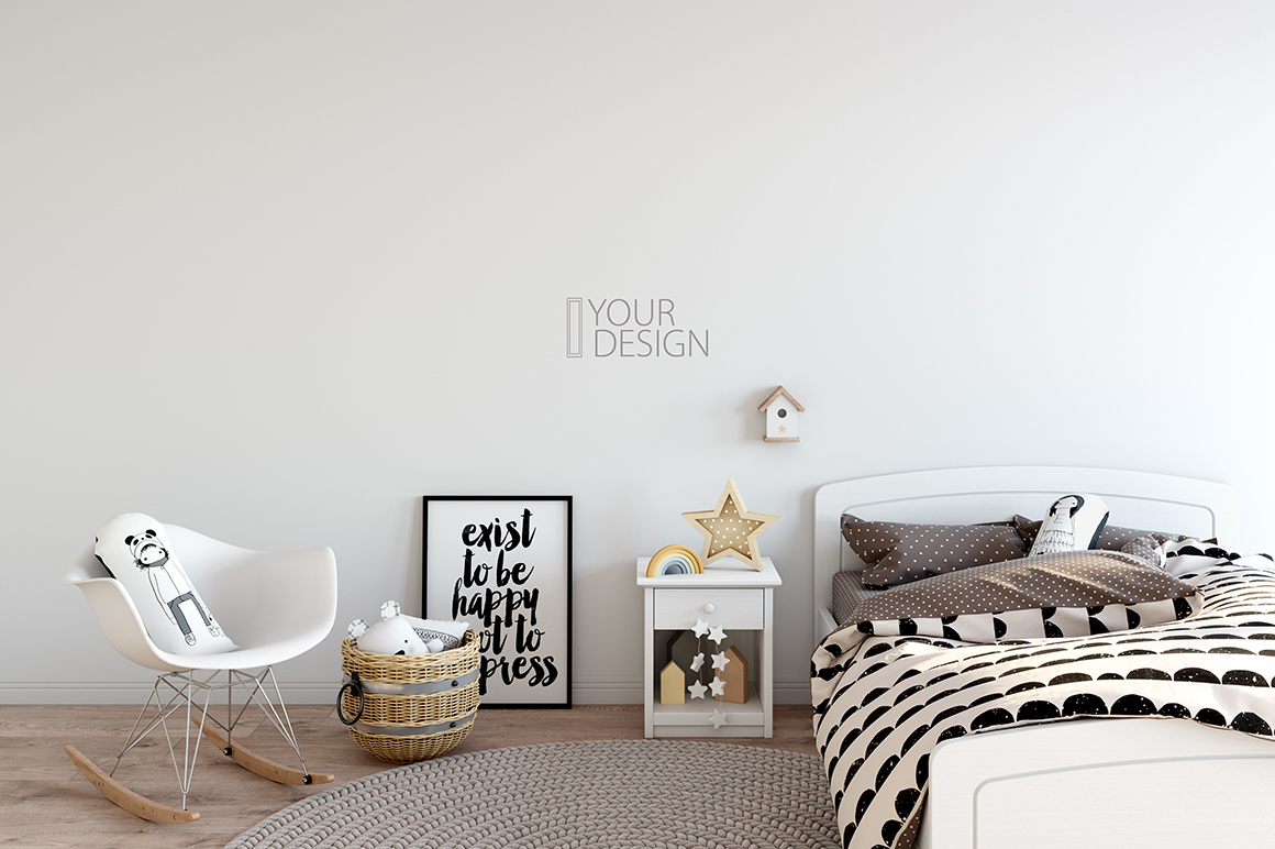 KIDS WALL & FRAMES Mockup Bundle - 2 example image 11