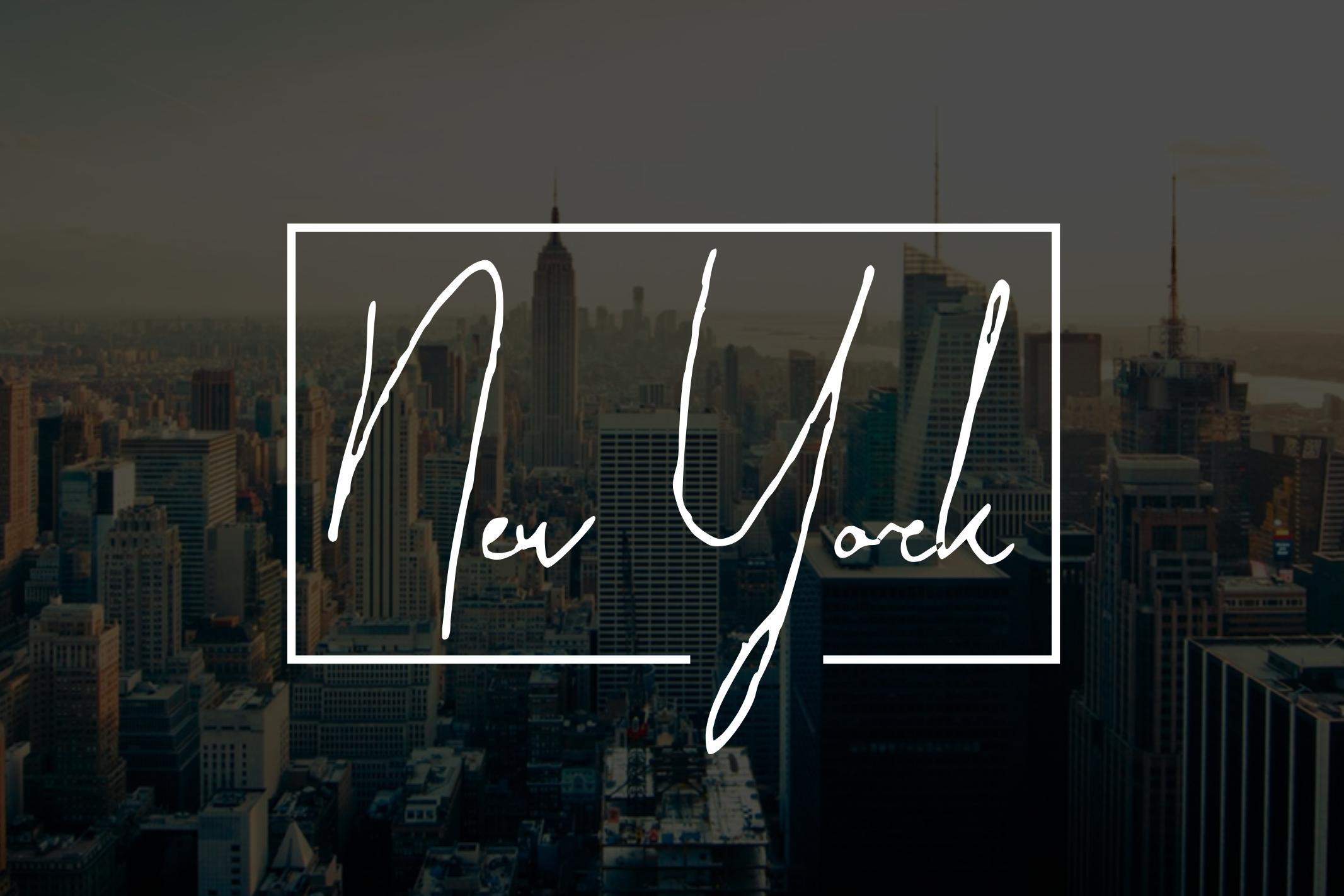 Paradise | Signature Typeface example image 3