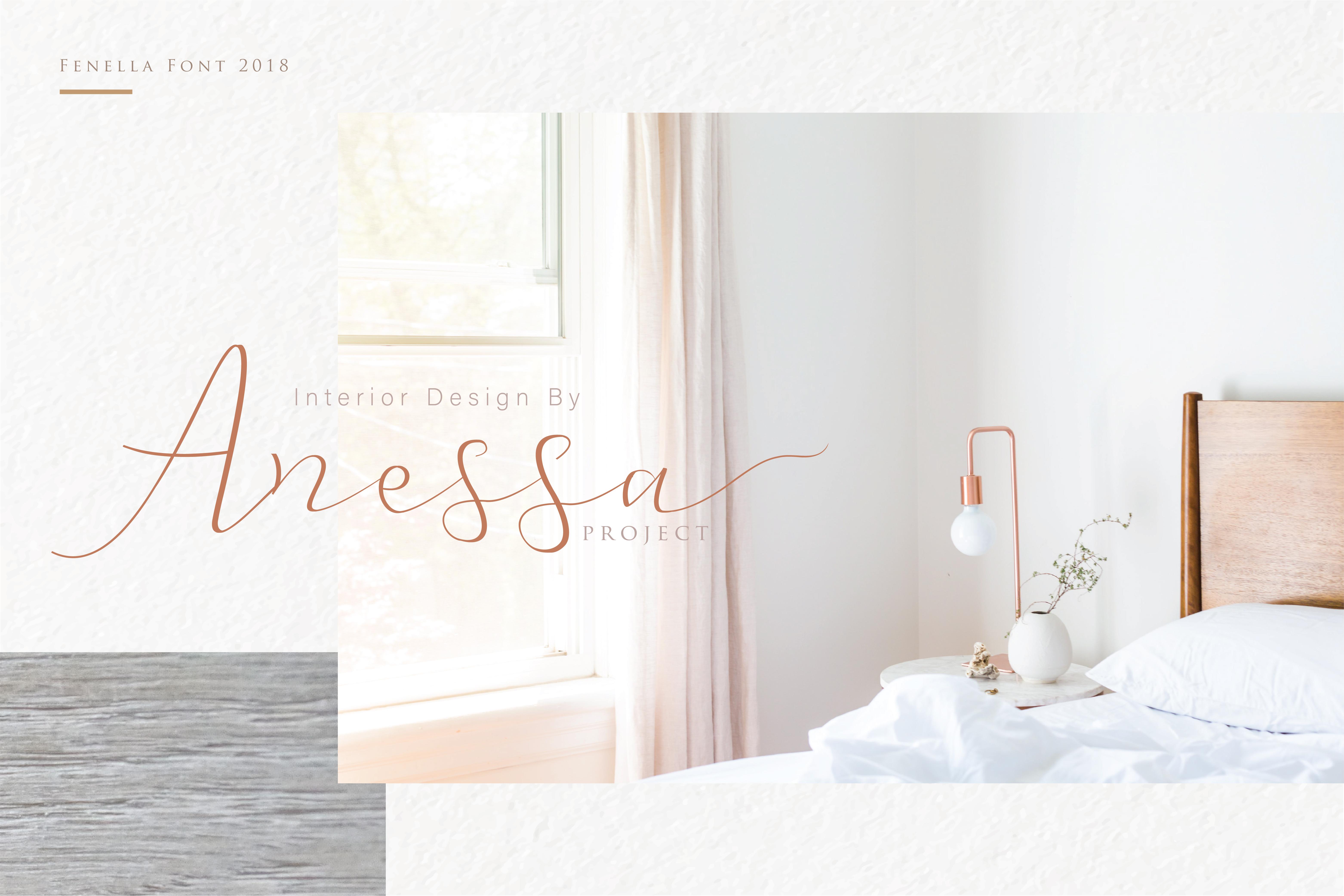 Fenella - Luxury Romantic Font example image 13