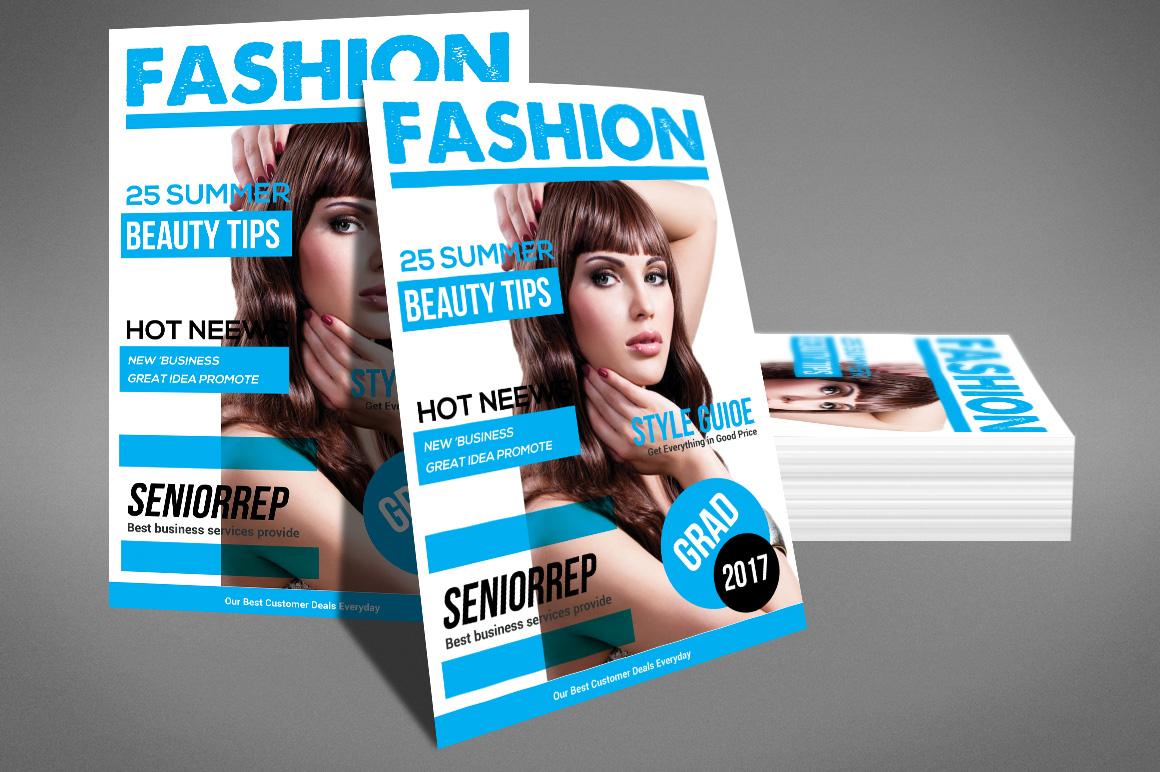 Magazine template by sanaimran design bundles magazine template example image 4 cheaphphosting Images