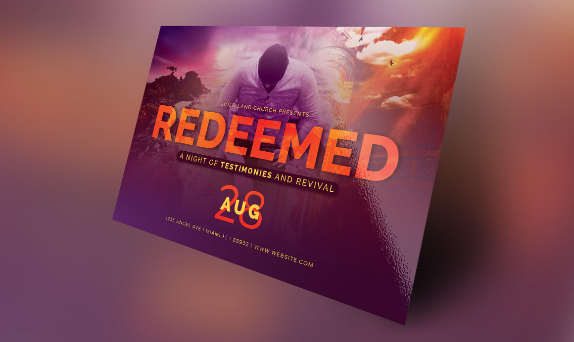 Church poster templates free download