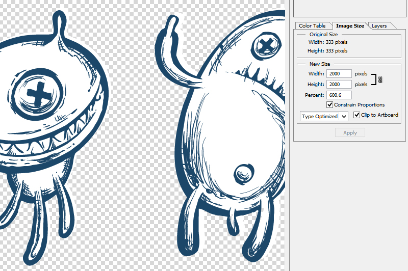 Sketchy Doodle Monsters example image 2