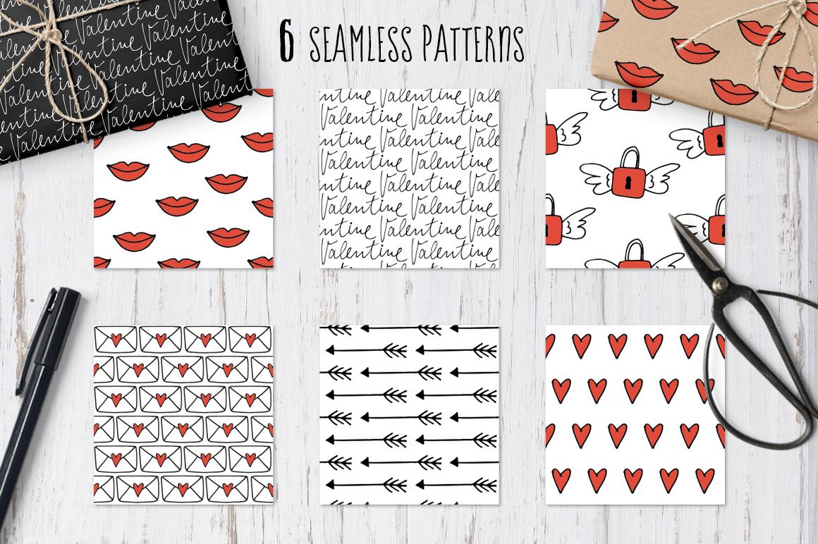 Happy Valentine graphic set example image 6