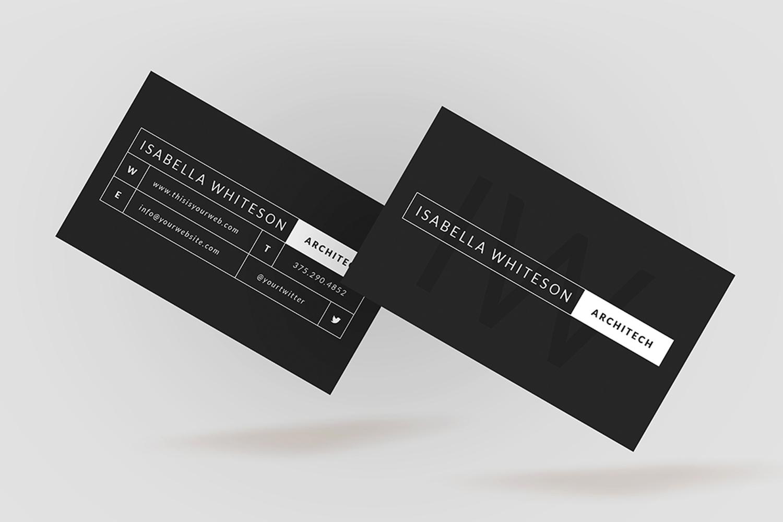 Dark business card bc055 by coolediti design bundles dark business card bc055 example image 3 colourmoves Choice Image