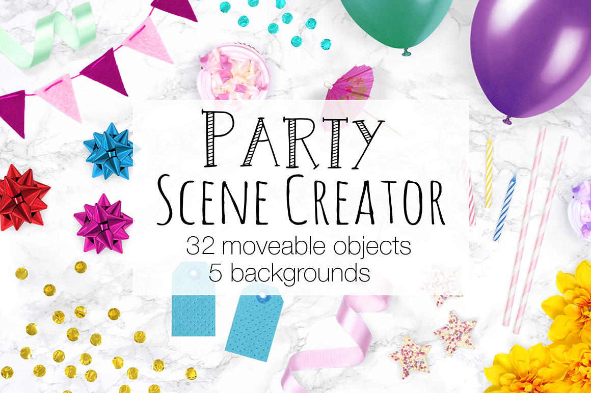 Party Scene Creator - Top View example image 1