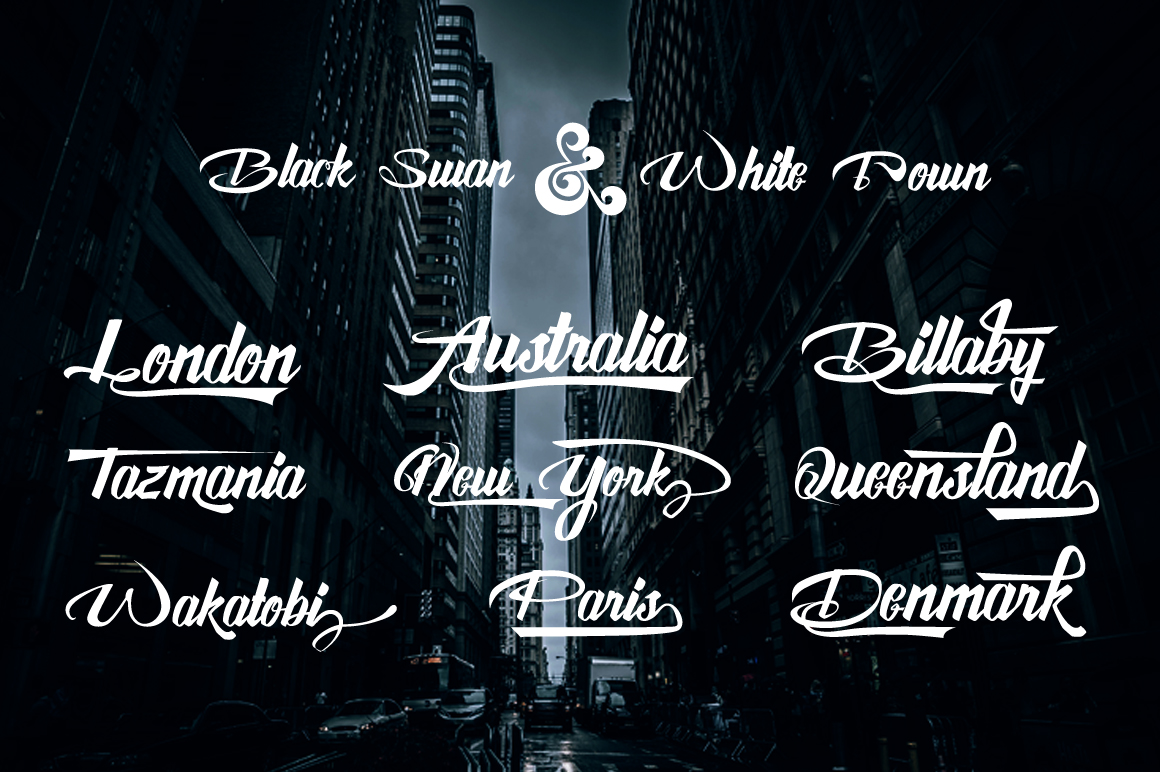 Awesome Display Typeface example image 3