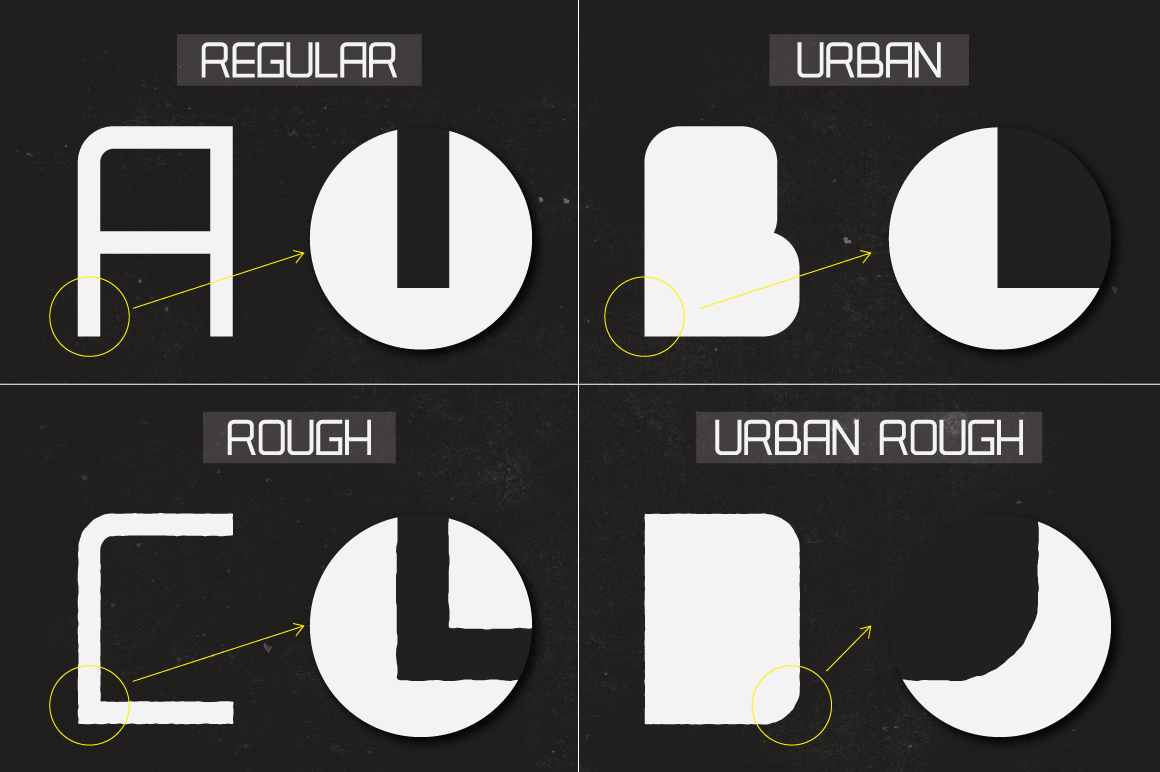 Real Tech Typeface example image 2