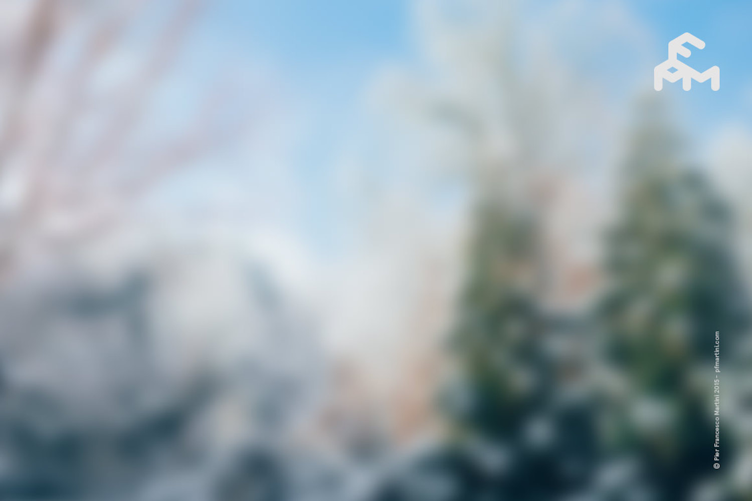 20 Winter Blurred Backgrounds example image 2