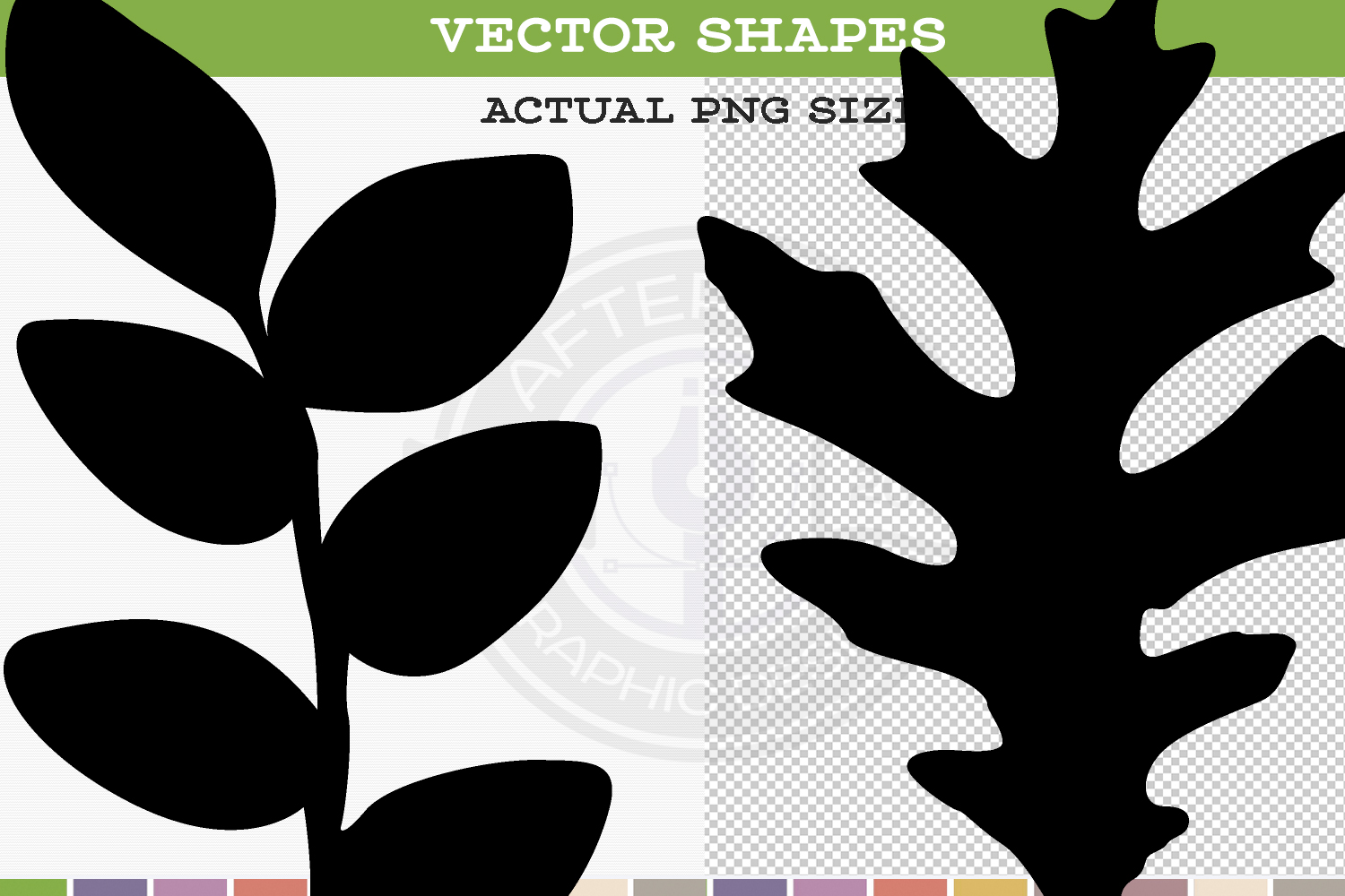 Leaf Silhouettes example image 2