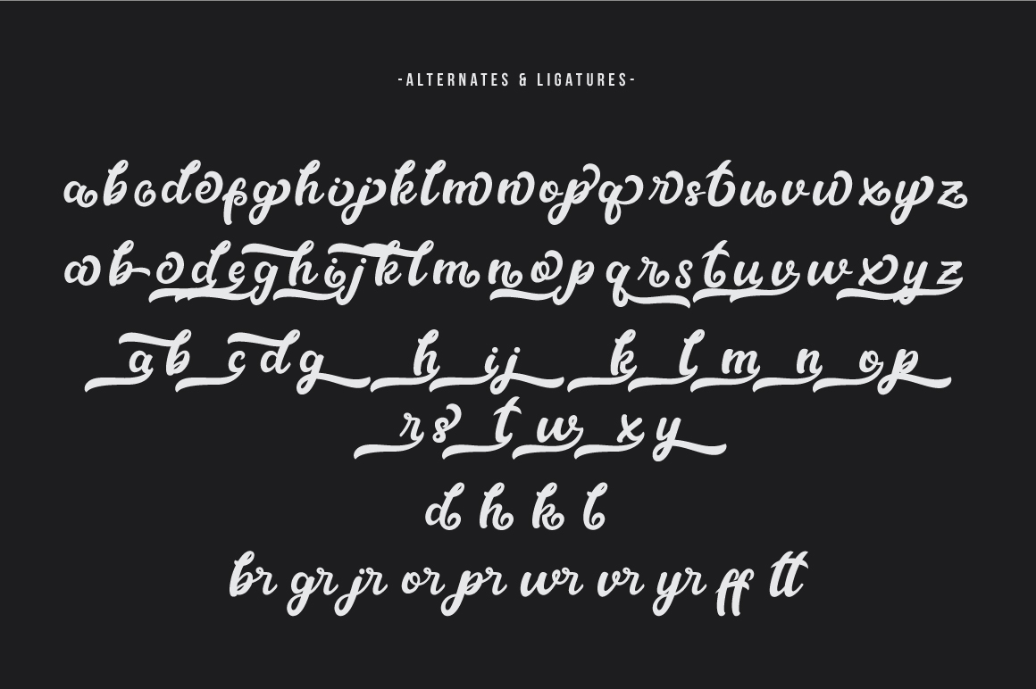 Metal Ink Typeface example image 10