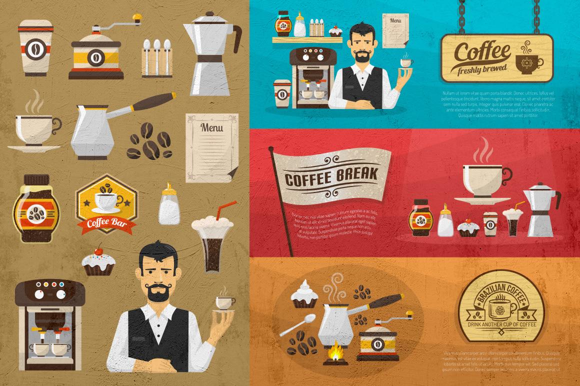 Coffee set example image 4