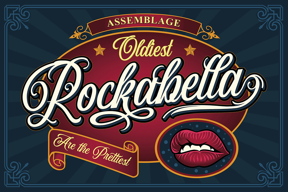 Wildcats Typeface (40% off) example image 5