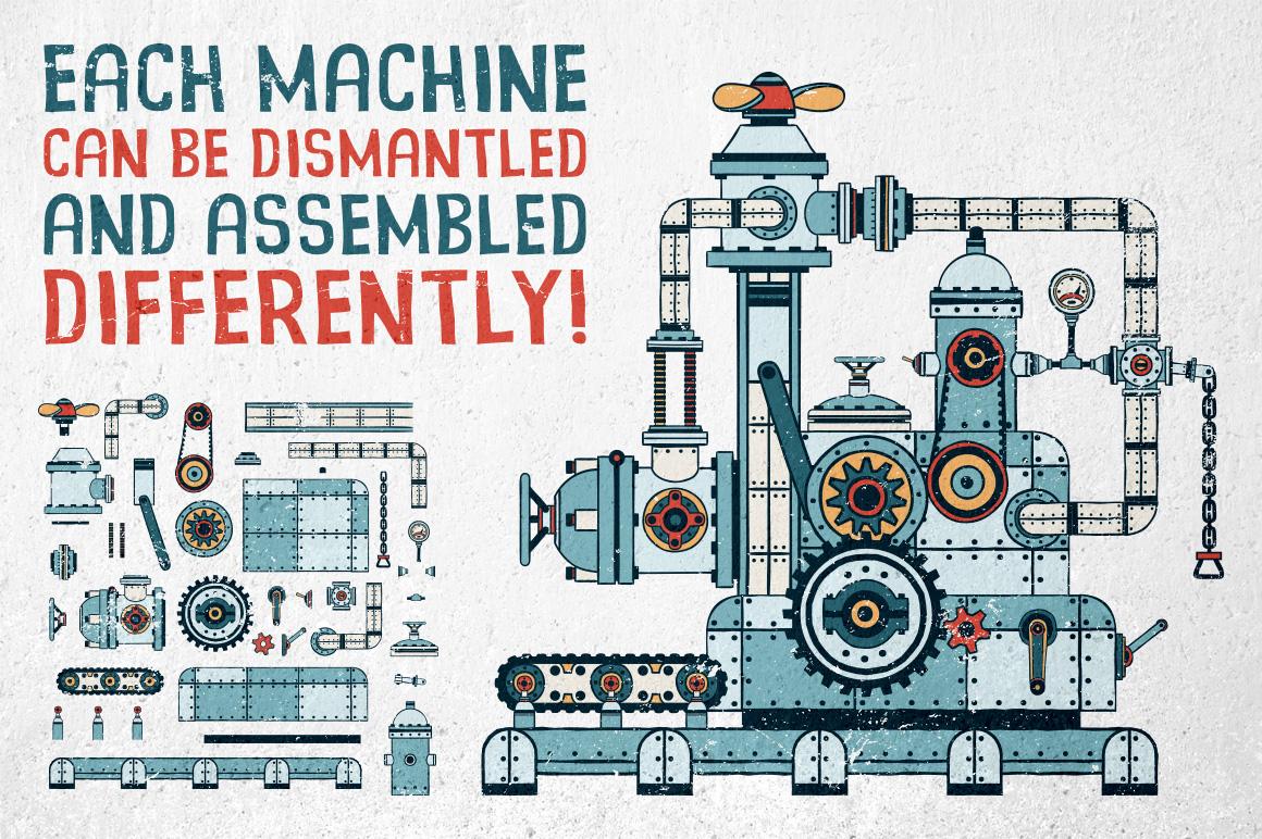 Fantastic Machines Construction Kit example image 2