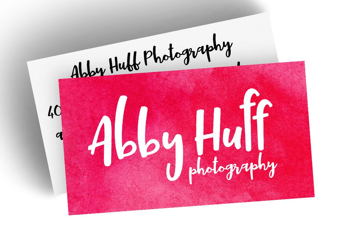 Tallsy Smalls: business card idea mockup